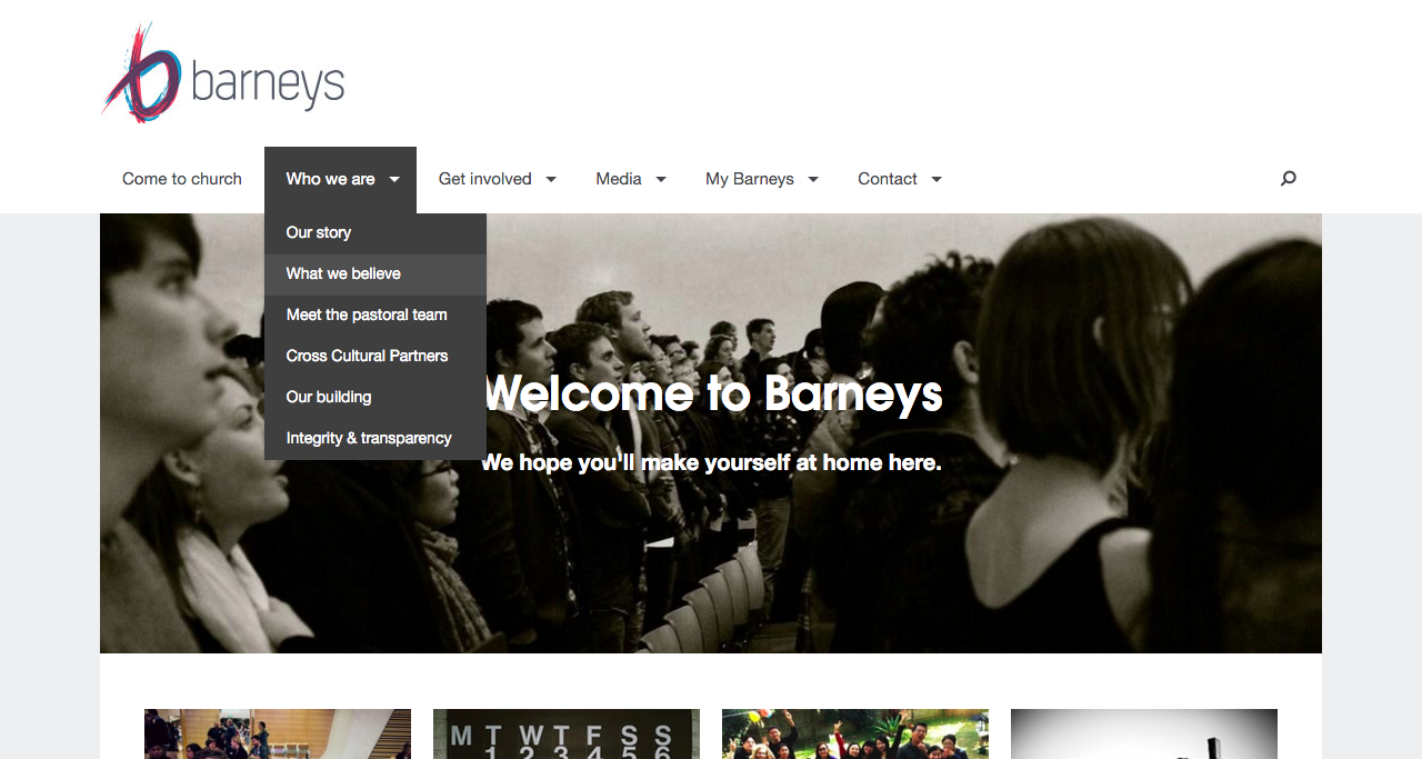 Barneys Website Screenshot
