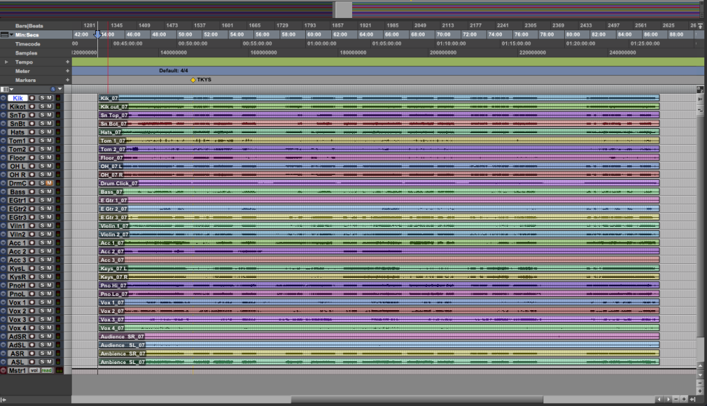 Screen Shot 1 - Initial Session