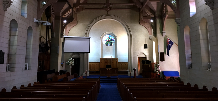 New screen and projector for St Andrews Manly
